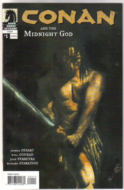 Conan and the Midnight God 5 issue mini-series comic books near mint
