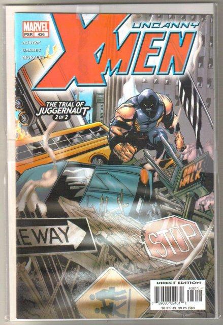 Uncanny X-men The Trial of Juggernaut complete saga comic books  mint