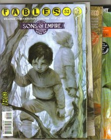 Fables Sons of Empire complete saga comic books  mint
