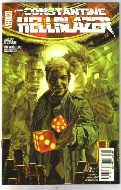 John Constantine Hellblazer 5 mint sequential copies issues 228 thru 232
