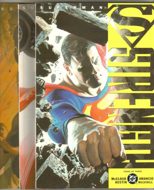 Superman Strength 3 issue mini series mint