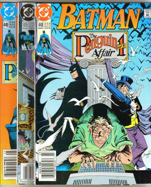 Batman The Penguin Affair three issue storyline near mint