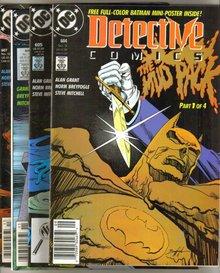 Detective Comics featuring Batman in