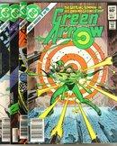 Green Arrow 4 issue mini series all near mint