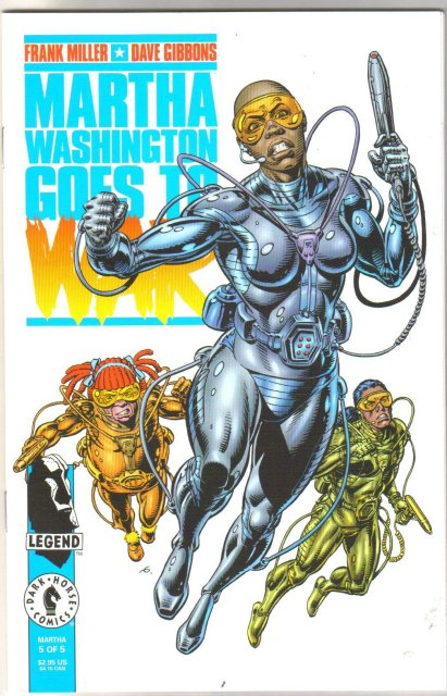 Martha Washington Goes to War plus Stranded in Space and Happy Birthday all mint