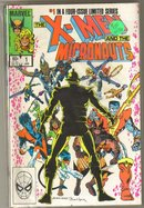X-Men and the Micronauts 4 issue mini series in near mint condition