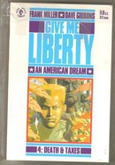 Give Me Liberty 4 issue mini series originals and in mint condition