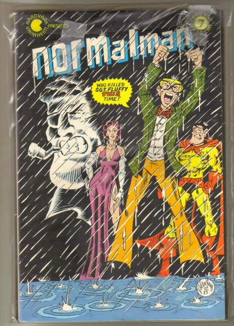 Normalman random collection of 6 comic books
