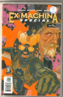 Ex Machina Special collection of 2 mint
