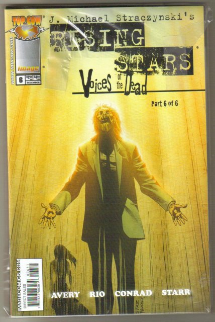 Rising Stars Voices of the Dead complete run of 6 comics in  mint condition