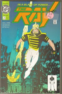 The Ray  complete run of 6 comics in near mint condition