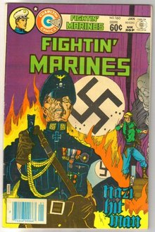 Fightin' Marines collection of 5 comic books from the early 80's