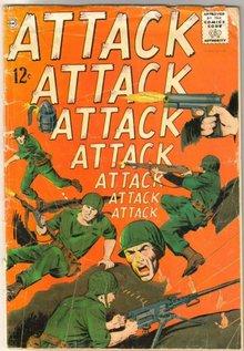 War comic book assortment of 10 various