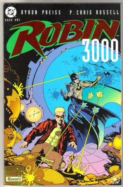 Robin 3000 Elseworlds 2 issue mini series
