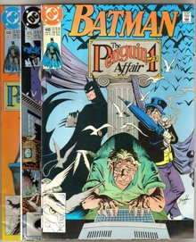 Batman The Penguin Affair 3 part original story in comic books