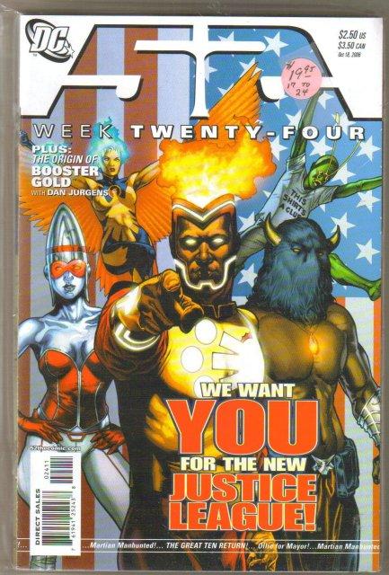 52 Weeks 17 thru 24 mint comic books