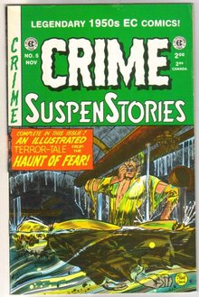 Crime Suspenstories  #5 comic book
