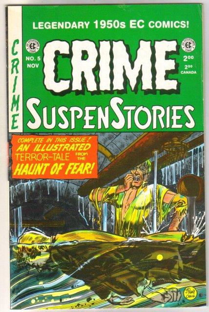 Crime Suspenstories  #5 comic book