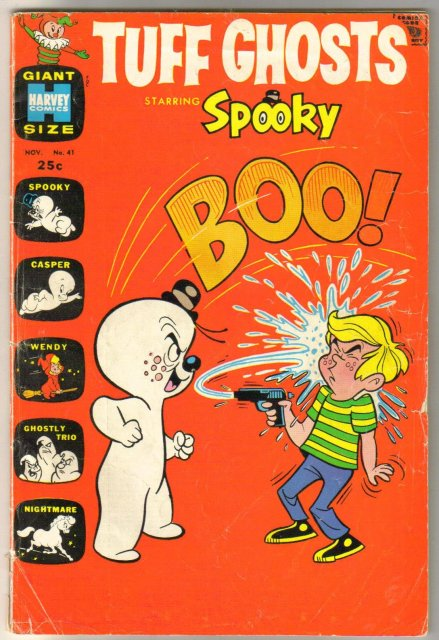 Tuff Ghosts starring Spooky #41 comic book very good 4.0