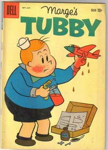 Marge's Tubby #42 comic book fine 6.0
