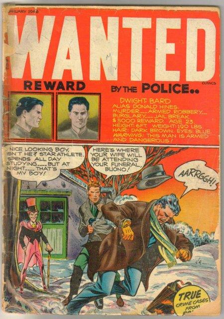 Wanted #11 comic book fair 1.5