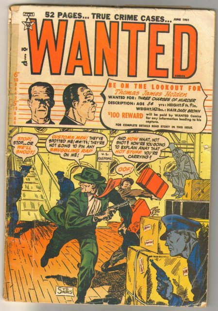 Wanted #38 comic book fair 1.5