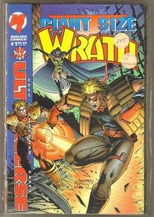Complete Wrath series by Malibu Comics