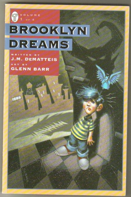 Brooklyn Dreams volume 1 trade paperback brand new mint