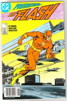Flash #1 comic book near mint 9.4