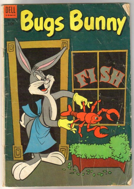 Bugs Bunny #32 comic book very good 4.0