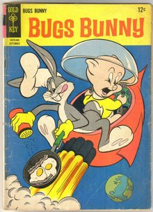 Bugs Bunny #101 comic book very good 4.0