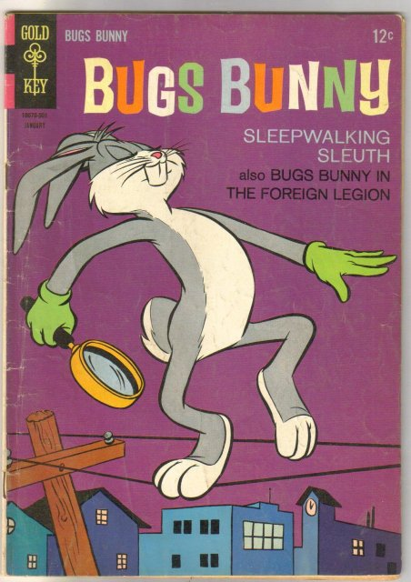Bugs Bunny #97 comic book very good/fine 5.0