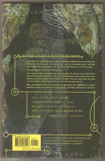Warren Ellis' Orbiter hardcover brand new