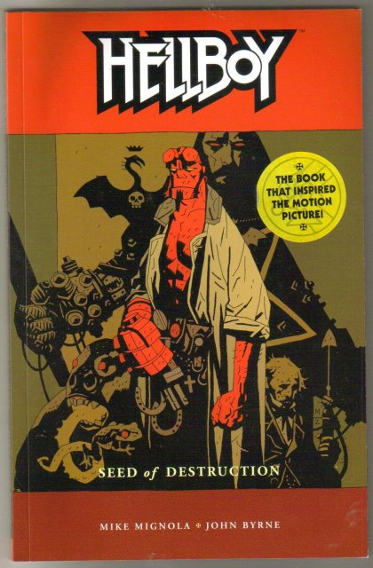 Hellboy Seed of Destruction trade paperback brand new mint