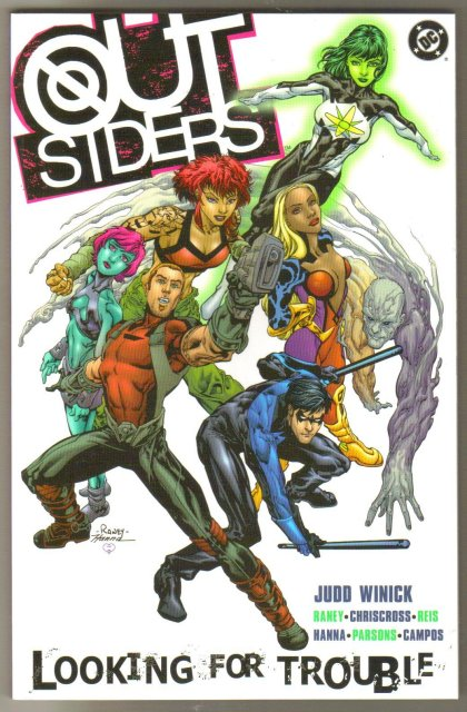 Outsiders: Looking for Trouble  brand new trade paperback