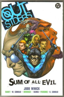 Outsiders: Sum of All Evil brand new mint trade paperback
