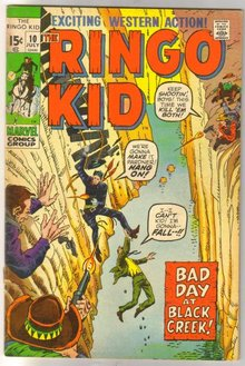 The Ringo Kid #10 comic book fine/very fine 7.0