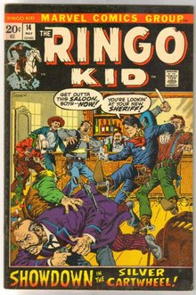 The Ringo Kid #14 comic book very fine 8.0