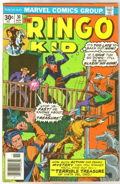 The Ringo Kid #30 comic book very fine 8.0