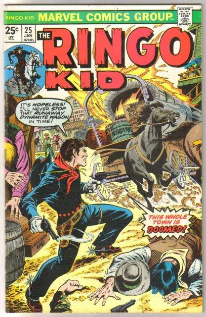 The Ringo Kid #25 comic book very fine 8.0