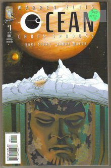 Ocean 6 issue mini series mint by Warren Ellis
