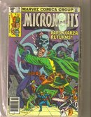 Micronauts 13 issue assortment
