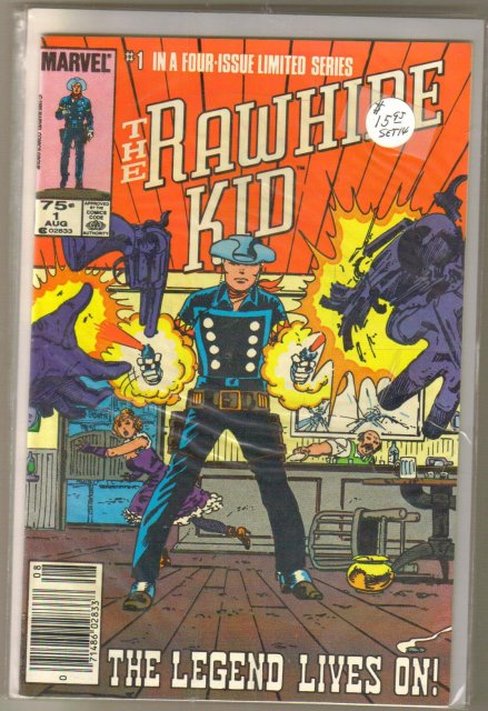 The Rawhide Kid 1985 4 issue mini series near mint