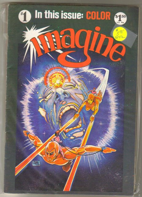 Imagine 2 issue mini series