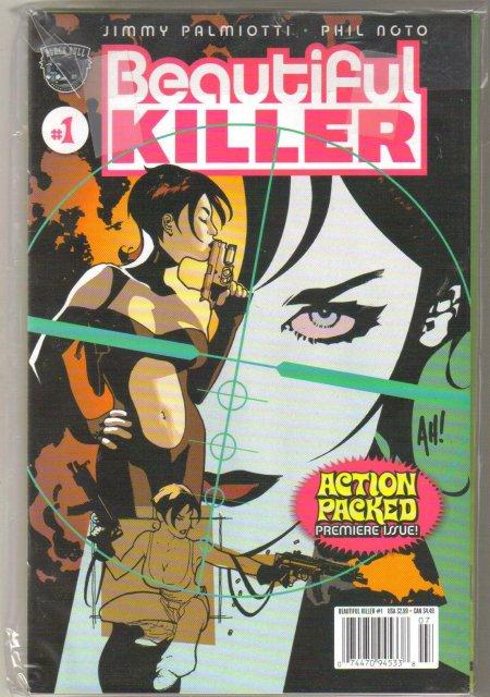 Beautiful Killer 3 issue mini series  mint