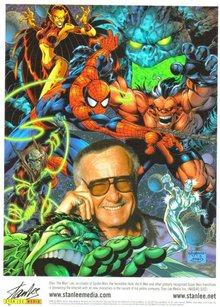 Stan Lee color glossy photo 8 by 10