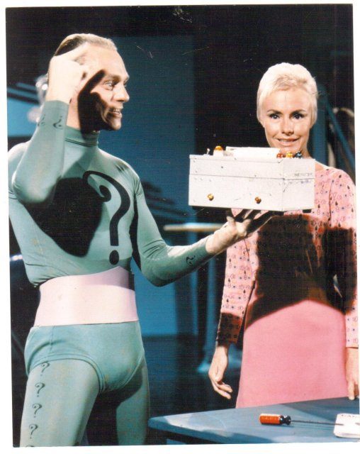 Frank Gorshin color glossy photo 8 by 10