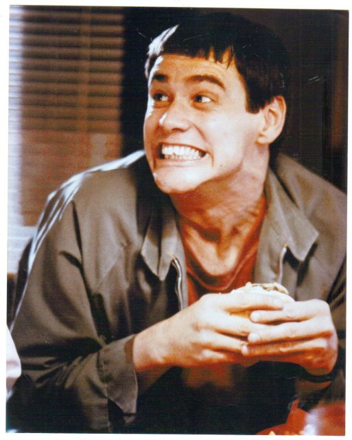 Jim Carey color glossy photo 8 by 10