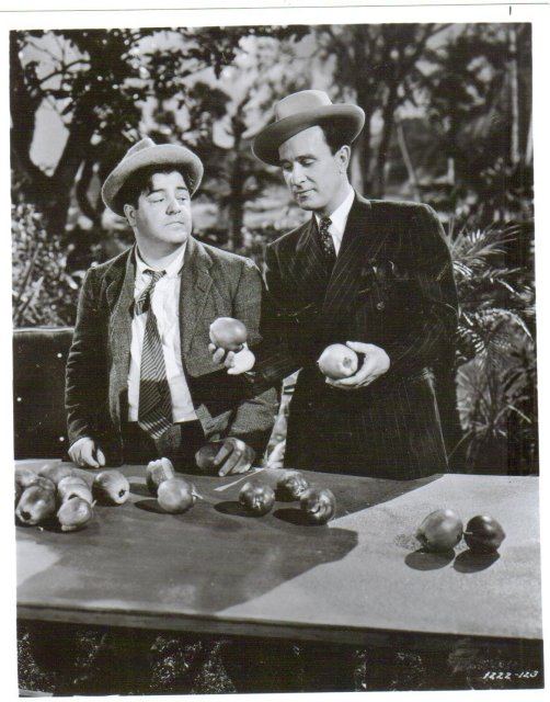 Abbott and Costello black and white glossy photo 8 by 10