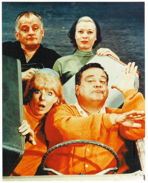 Honeymooners cast glossy color photo 8 by 10